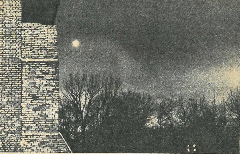 UFO nad Zakopanem 17 stycznia 1979