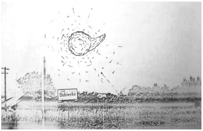 UFO nad miejscowościami Bachórzec i Dubiecko 18 lutego 1979