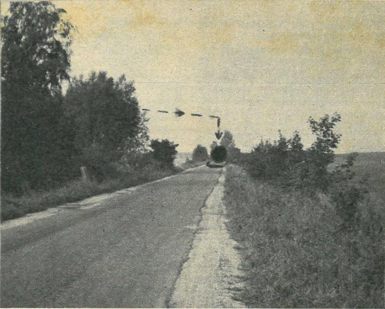 UFO nad miejscowością Tropy Sztumskie 5 września 1979