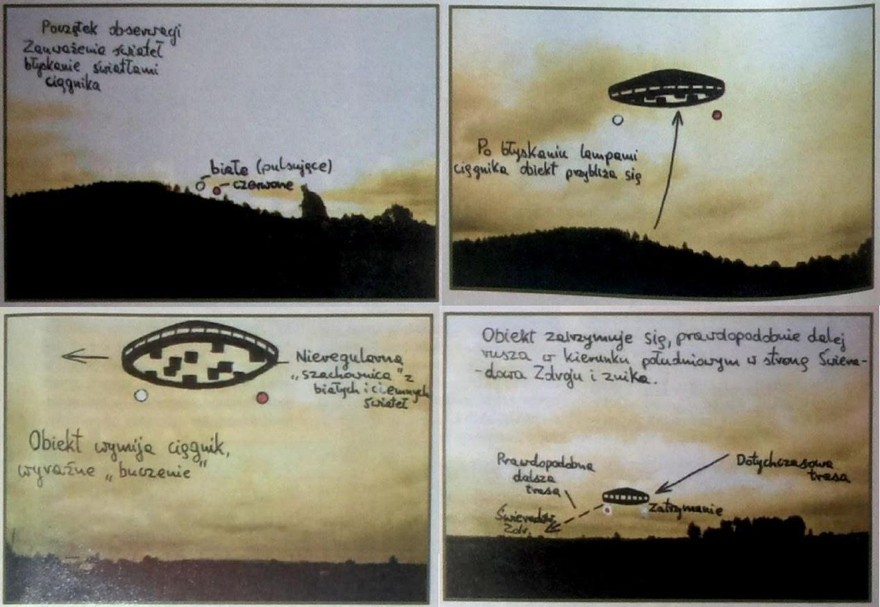 UFO nad Mirskiem 19 stycznia 1994 r.