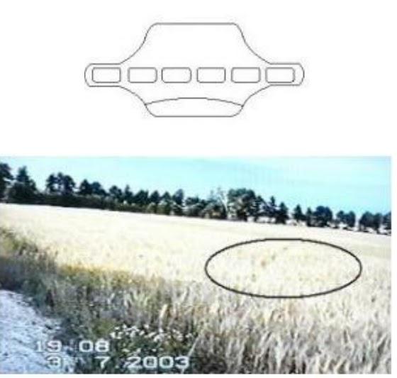 Lądowanie UFO w Żabnie w 1979-1980 roku